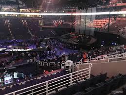 Talking Stick Resort Arena Section 102 Concert Seating