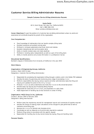 Objective Resume Examples Customer Service Resume For Study