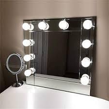 Bathroom mirror lighting Farmhouse Lvyinyin Upgraded Linkable Vanity Lighting Makeup Mirror Lights Kit For Dressing Cosmetic Table Bathroom Mirrors Amazoncom Lvyinyin Upgraded Linkable Vanity Lighting Makeup Mirror Lights Kit