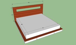 Queen Size Platform Bed Plans