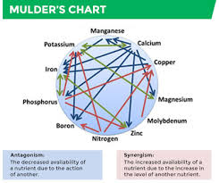 Mulders Chart Using Micronutrients In A Liquid Blend Omex Agriculture Inc