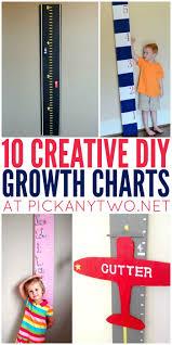 10 Creative Diy Growth Charts Pick Any Two Diy Wood Wall