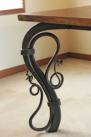 dining table wrought iron furniture