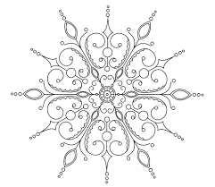 Elaborate Mandala Coloring Pages