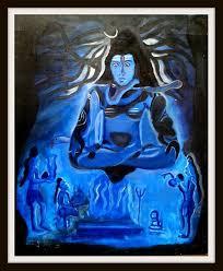 aghori tantrik worshiping lord shiva shashikinglionart