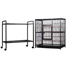 bird cages on wheels