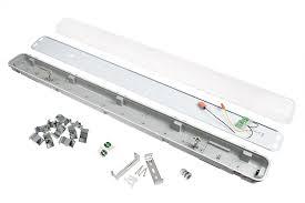image of t8 led light fixtures t8 led vapor proof light fixture for 2 led t8 s