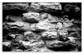 old brick wall black and white ultra hd