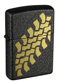 <b>Зажигалка</b> Black Crackle <b>ZIPPO</b> 236 <b>Tire</b> Tracks купить на <b>Zippo</b>.ru