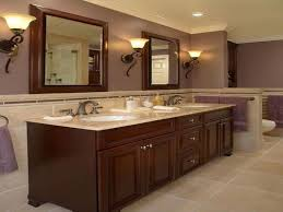 traditional bathroom designs 2013. Traditional Bathroom Designs 2013 - Double Sink Vanity With Half Wall Separating Toilet M