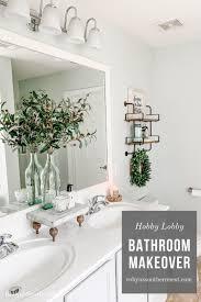 robyn s southern nest hobby lobby bathroom makeover