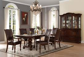 Cherry Dining Table Set Available Online in Dallas Fort Worth Texas. Please upgrade to full version of Magic Zoom™ Homelegance Lordsburg 7pc Brown TX