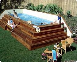 square above ground pool with deck.  With Awesomeabovegroundpools5 With Square Above Ground Pool Deck B