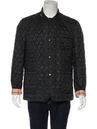 burberry brit howe quilted jacket w tags clothing bbr32922 the realreal