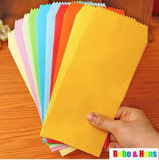 New <b>5pcs Set candy colors</b> Stationery envelope Gift&office Fashion ...