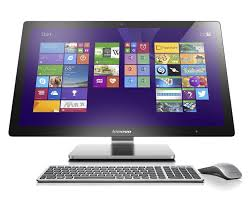 com lenovo a740 27 inch all in one touchscreen desktop f0am004kus silver grey discontinued by manufacturer computers accessories