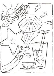 free printable summer coloring pages for kids coloring pages for s