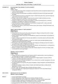 Product Management Resume Samples Velvet Jobs