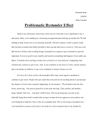 cause and effect essay stress cause and effect essay cause and  bystander effect essay bystander effect the bystander effect my bystander effect essay essay on the causes of stress
