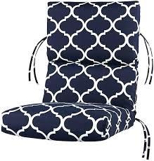 highback patio chair cushions high back patio cushions nice high back patio chair cushions with outdoor highback