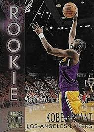 Sep 19, 2019 · 1996 topps chrome refractor #138. Amazon Com 1996 97 Topps Stadium Club Kobe Bryant Los Angeles Lakers Basketball Rookie Card Rc R9 Collectibles Fine Art