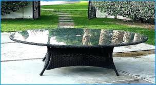 round glass top patio table replacement glass for table top coffee table glass top replacement replacement