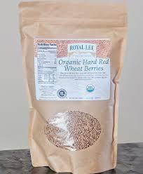 Organic Hard Red Wheat Berries