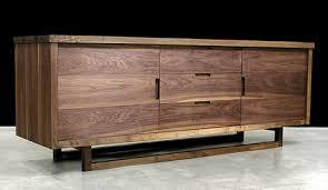 modern wooden furniture. Hudson-furniture-low-console.jpg Modern Wooden Furniture