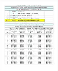 Loan Amortization Schedule Sample Repayment Template Payment Yakult Co