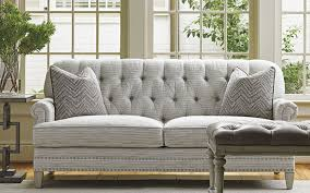 Grey Tufted Back Sofa Grey Tufted Sofa A28