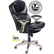 wal mart office chair. Full Size Of Chair Serta Back In Motion Health And Wellness Mid Bonded Leather Computer Chairs Wal Mart Office