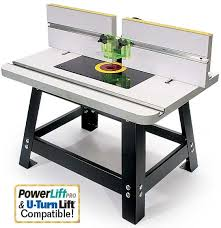 router table. mlcs heavy duty benchtop router table