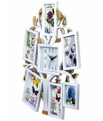 archies collage frames plastic wall hanging white photo
