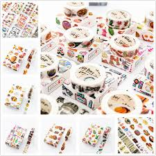little things flower tape decoration roll diy washi decorative sticky paper masking tape self adhesive sbook 2016 foam mounting tape super strong double