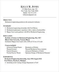 Mechanical Engineering Resume Templates Enchanting 48 Best Engineering Resume Templates PDF DOC Free Premium