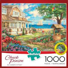 Feel free to use it. Buffalo Games Chuck Pinson Sea Garden Cottage 1000 Piece Jigsaw Puzzle Walmart Com Walmart Com
