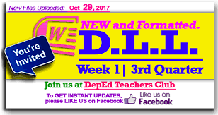 daily lesson log format download k 12 daily lesson log dll deped club