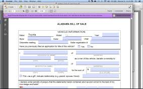 Bill Of Sale Dmv Write A Free Alabama Bill Of Sale DMV YouTube 20