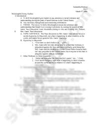 to kill a mockingbird outline doc english wilson at  samantha rimkus pd 5 9th 2006 mockingbird essay outline i introduction to kill mockingbird gets readers to pay attention to racial tolerance and