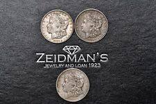 lot of 3 morgan dollars 1921 s