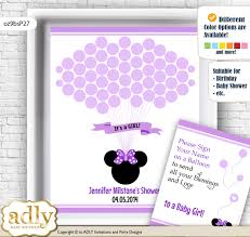 minnie mouse guest book alternative for a baby shower creative nursery wall art gift  on oz designs wall art with minnie mouse guest book alternative for a baby shower creative