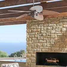 Outdoor Patio Ceiling Fans UL Rated for Wet Exterior Damp Rooms