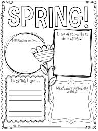 Spring Worksheets For Kids – Color Bros