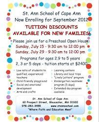 Open House Flyer Template Page Elementary School Meetwithlisa Info