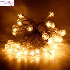 Led Round Ball Christmas Lights Fengrise 2m Led Round Ball Diy Led String Light For
