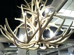 small antler chandelier pottery barn large e mixer repair