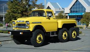 Chevy apache on a 6x6 m135 chassis. Has to be the coolest truck ive ...