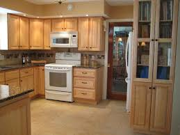 Kitchen Cabinet Staining Oak Cabinets Before And After How Much