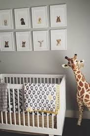 land of nod p crib bedding in a