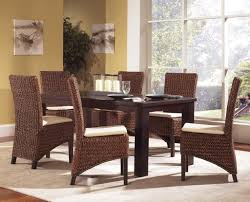 Seagrass Living Room Furniture Dining Room Stunning Seagrass Dining Chairs Design With Espresso
